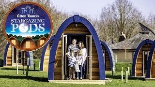 Stargazing Pods   Facts & Review   Alton Towers Resort 2019