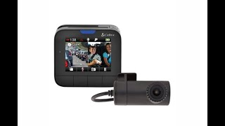 Cobra Drive HD Dash Cam Dual View System (night review)