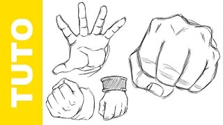 Comment dessiner Dragon Ball Z LES MAINS Tutoriel
