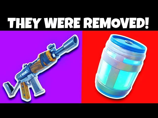 10 Things That Were Removed From Fortnite: Battle Royale