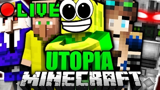 Minecraft UTOPIA LIVESTREAM!! #2