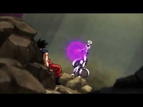Frieza helps Goku by lending his energy Episode - 111(English dubbed)