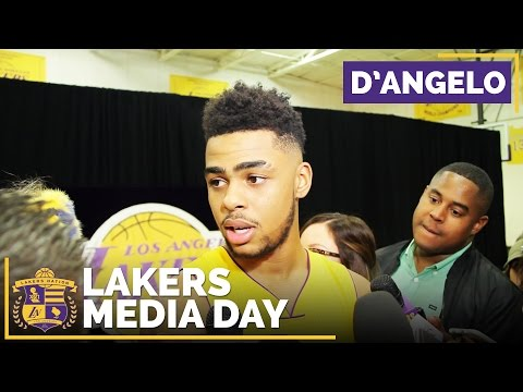Lakers Media Day 2016: D'Angelo Russell Changes His Mentality