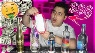 Bought the Most Expensive Water Bottles in the World!! You Won't Believe the Prices