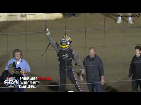 """USAC/CRA """"Salute to Indy"""" Highlights 