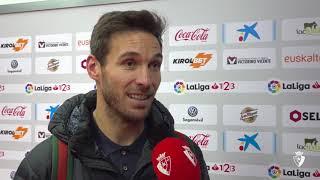 """Xisco: """"El momento del gol ha sido muy emocionante"""". ⠀"""