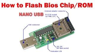NANO USB BIOS Programmer - How to flash Bios Chip