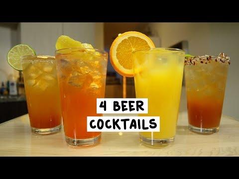 Four Beer Cocktails