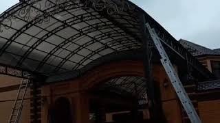 видео Ажурность стальных решетчатых конструкций