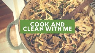 Cook and Clean With Me   Mediterranean Diet   January
