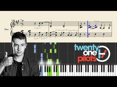 twenty one pilots: Taxi Cab - Advanced Piano Tutorial + Sheets