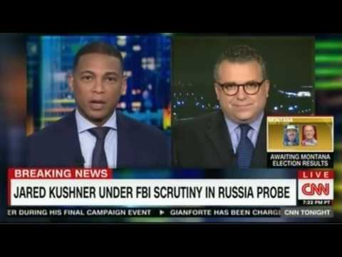 Don Lemon Panel discussion on Jared Kushner now under FBI investigation