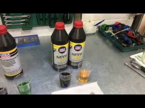 Замена масла в DSG-7