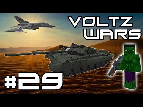 Minecraft Voltz Wars - Automated Turret Defenses! #29