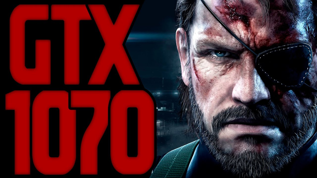 Metal Gear Solid V GTX 1070 G1 GAMING & I5 6600K OC
