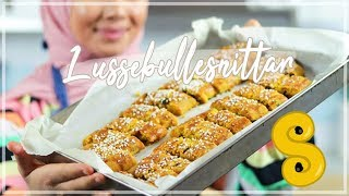 Saffron bun cookies - caramel cookies flavoured with saffron | Learn to bake with Camilla Hamid