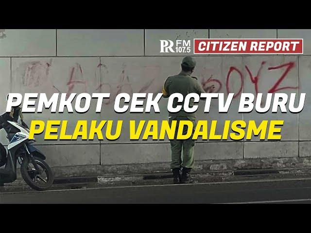 Aksi Vandalisme Menjadi Perhatian Wali Kota, Pemkot Bandung Cek CCTV