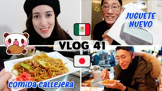 😁 A DAY IN OUR LIFE IN JAPAN 🇯🇵 and Street Food Festival 🍢 | Tania & Hayato