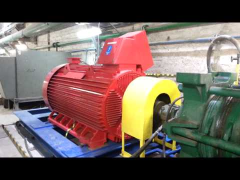 Run-up of Line Start Permanent Magnet Synchronous Motor in large pump application (1600kW,1500rpm)