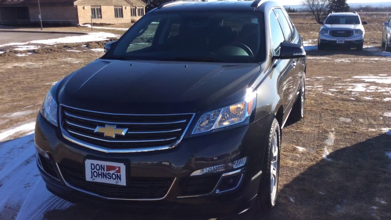 2017 Chevrolet Traverse At Don Johnson Motors In Rice Lake