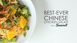 How To Make The Best-ever Asian Chicken Salad | Myrecipes