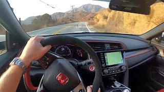 2020 Honda Civic Type R Touring - POV Test Drive (Binaural Audio)