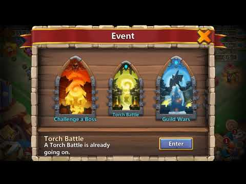 TORCH BATTLE, Acount Progress, And Thoughts On The New Update!!! Castle Clash.