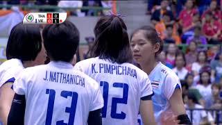 วอลเลย์บอล หญิง U19 รอบชิงชนะเลิศ ไทย - เวียดนาม 20-07-59
