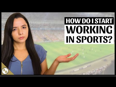 How To Get A Job In Sports | Land Your Dream Job