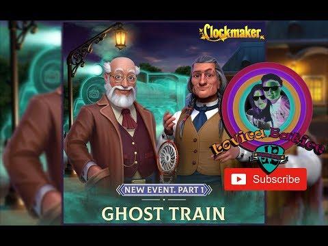 Clockmaker - Ghost Train - Part 1 - Bonus Level 16 - 20 Gameplay