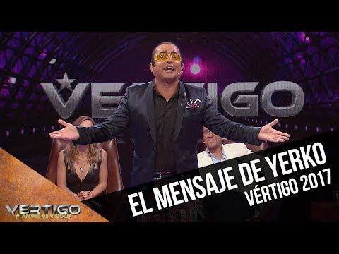 El mensaje de Yerko a los candidatos | Vértigo 2017