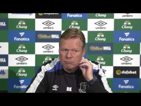Ronald Koeman's pre-Watford press conference