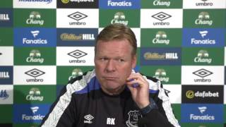 Ronald Koeman's pre-Watford press conference
