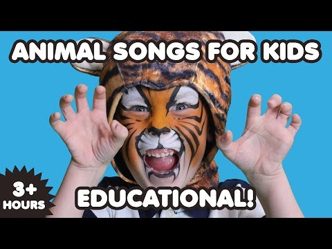 Animal Songs For Kids | 3 Hours | Nursery Rhymes | Kids Songs | Educational