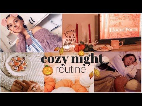 Cozy Fall Night Routine 2019