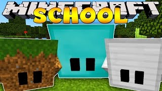 Minecraft School : BLOCK PETS IN SCHOOL!