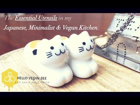 Japanese Kitchen Essentials: Utensils 🌱| Hello Vegan Bee 🐝