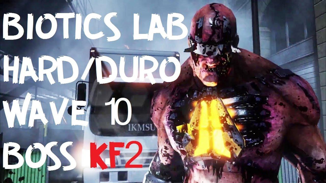 Killing Floor 2 Biotics Lab Hard Wave 10 Boss