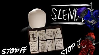 Roblox| Stop it Slender 2 | SCARING THE SOUL OUT OF US