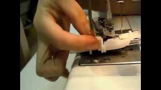 как сделать петли на швейной машине