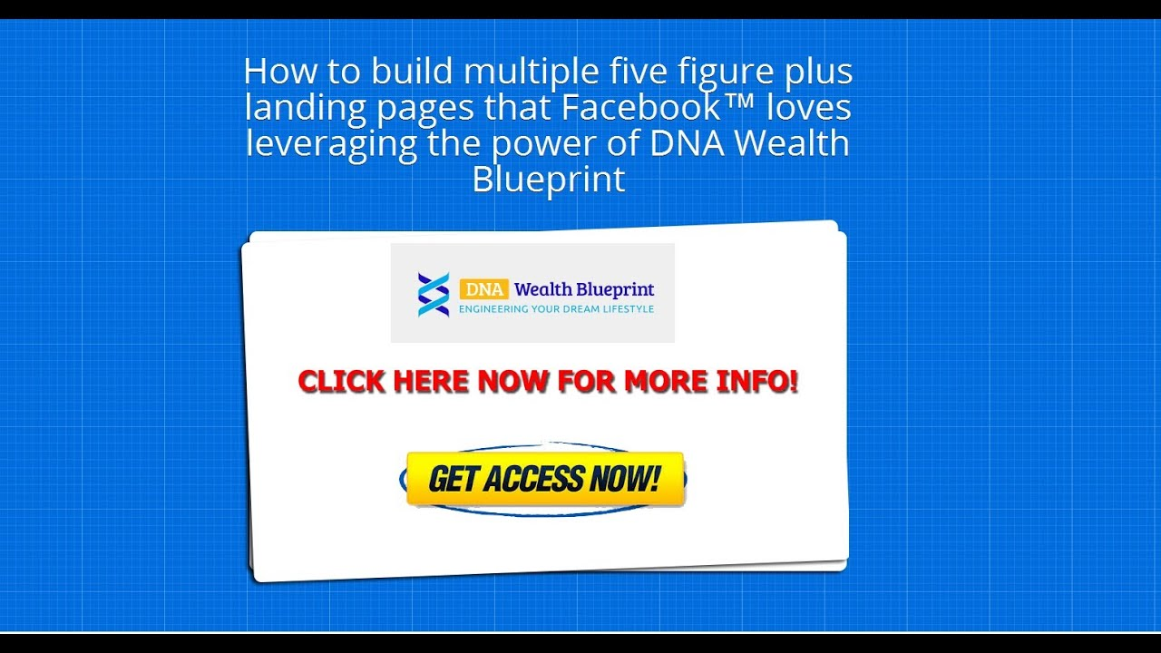 Dna wealth blueprint review see dna wealth blueprint bonus dna wealth blueprint review see dna wealth blueprint bonus strategies for facebook cpa marketing malvernweather Image collections
