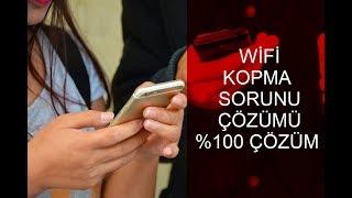 İOS Wifi Kopma Sorunu Çözümü 100 ÇÖZÜM