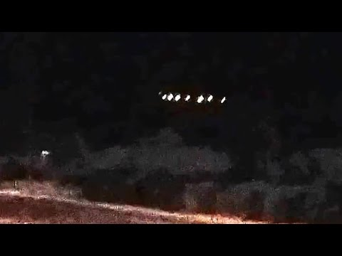 Massive UFO Sighting! [Shocking Video] Mothership Lights Up Arizona 2015