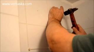 видео Как сверлить кафельную плитку и не расколоть ее