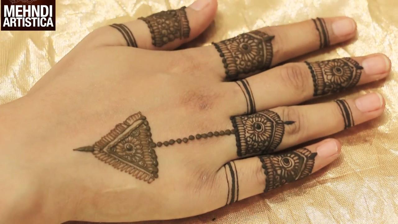 Mehndi For Thumb : Model mehndi design fingers domseksa
