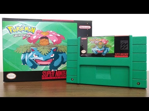 Pokemon Green On The Super Nintendo - The First Pokemon Console Game! | HOW TO