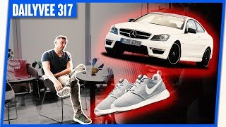 25 PAIRS OF NIKES AND A MERCEDES | DAILYVEE 317