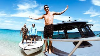 GIVING MY FAMILY & FRIENDS A $50,000 BOAT Old Boat Gets Refurbished - Ep 135