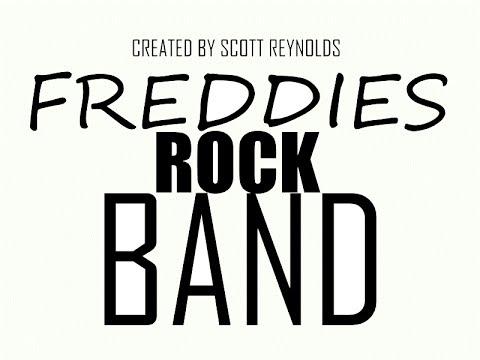 FREDDIES ROCK BAND ( FNAF SONGS ) [ VIRTUAL VIDEO CONCERT ]