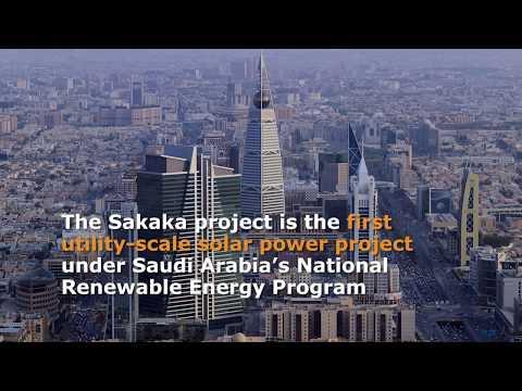 Sakaka 300 MW Solar PV project - Saudi Arabia